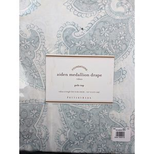 Pottery Barn Aiden Medallion Drapes Panel Curtains